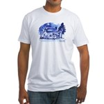 MVHS Fort Decker Drawing Fitted T-Shirt