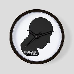 Praying Obama Wall Clock