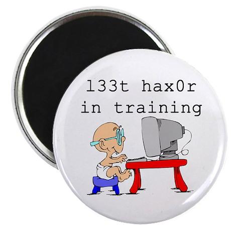 l33t haX0r Magnet