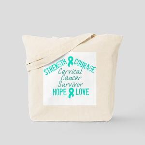 Cervical Inspirational Surviv Tote Bag