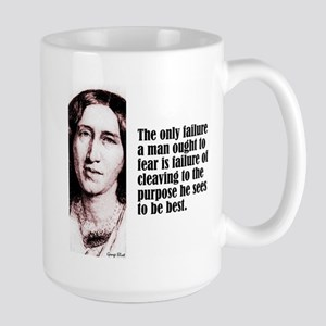 """Eliot """"Only Failure"""" Large Mug"""