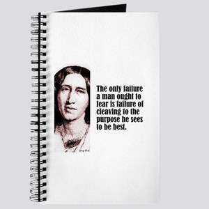 "Eliot ""Only Failure"" Journal"