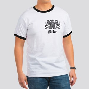 Miller Vintage Crest Family Name Ringer T