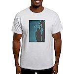 Ash Grey T-Shirt for BLUES fans!