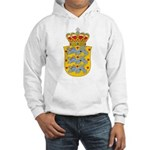 Denmark Coat Of Arms Hooded Sweatshirt