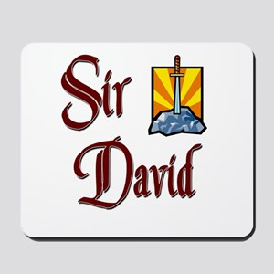 Sir David Mousepad