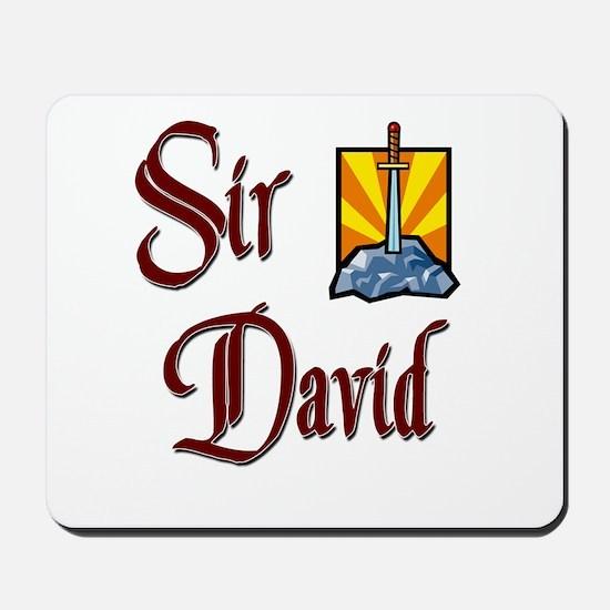 Sir David Mousepad