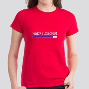 Baby Loading Women's Dark T-Shirt