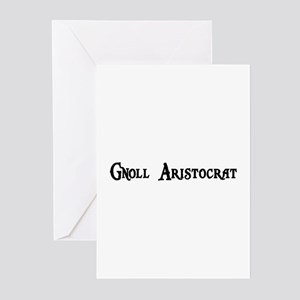 Gnoll Aristocrat Greeting Cards (Pk of 20)