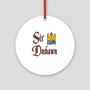 Sir Dashawn Ornament (Round)