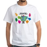 Have you been a Planetpal, today? White T-Shirt