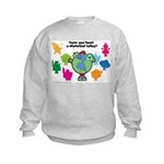 Have you been a Planetpal, today? Kids Sweatshirt