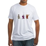 Movie monkeys #1 Fitted T-Shirt