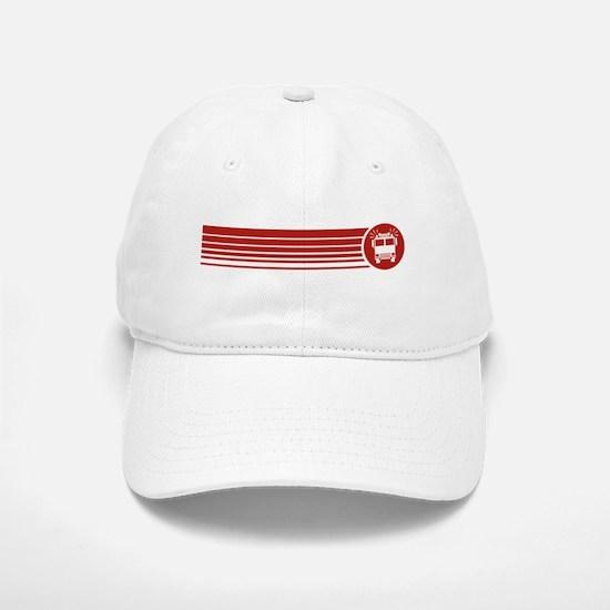Retro Firefighting Baseball Baseball Cap