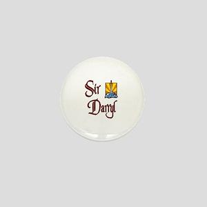 Sir Darryl Mini Button