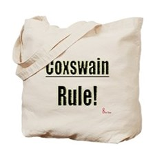 Coxswain Rule Tote Bag