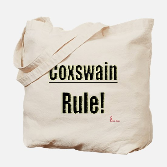 Coxswain Rule Tote Bag