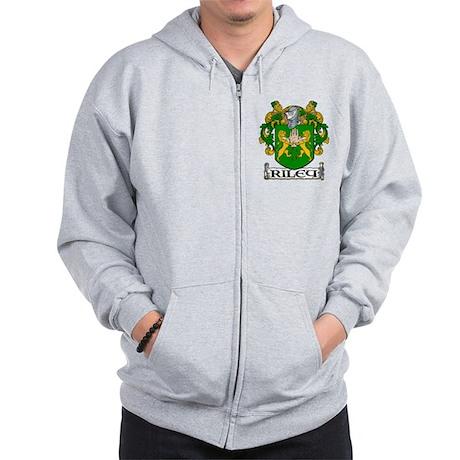 Riley Coat of Arms Zip Hoodie