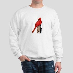 Cardinal on Post Sweatshirt