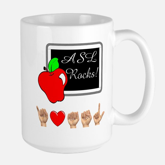 Teacher Male Large Mug