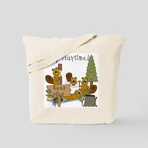 I Love Playtime Tote Bag