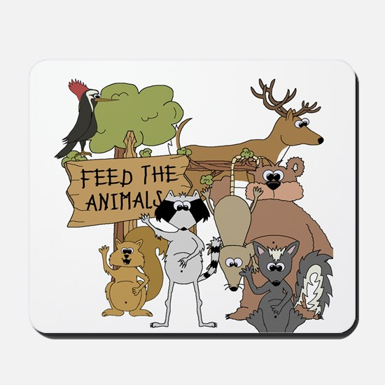 Feed the Animals Mousepad
