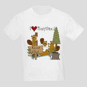 I Love Playtime Kids Light T-Shirt