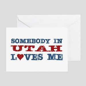 Somebody In Utah Loves Me Greeting Card