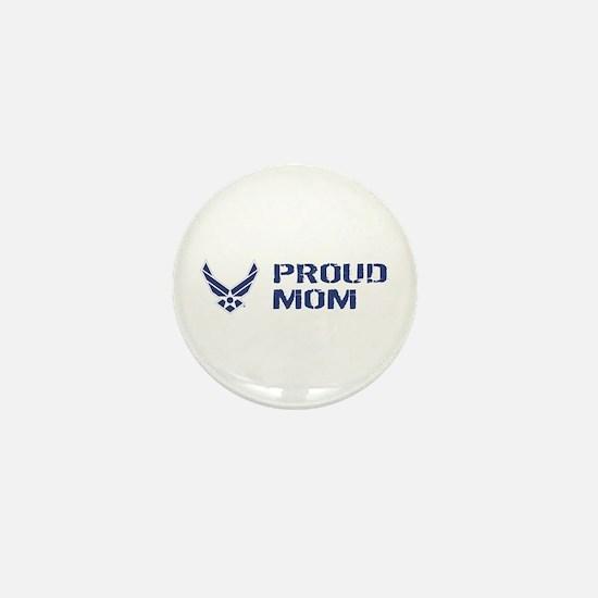 USAF: Proud Mom Mini Button