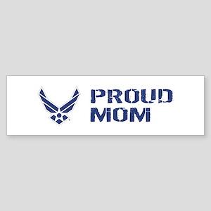 USAF: Proud Mom Sticker (Bumper)
