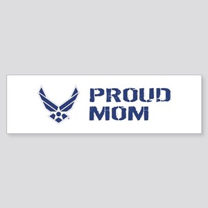 USAF: Proud Mom Sticker (Bumper)