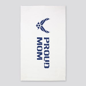 USAF: Proud Mom Area Rug