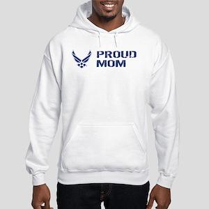 USAF: Proud Mom Hooded Sweatshirt