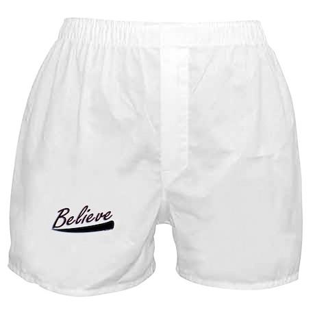 Believe Boxer Shorts