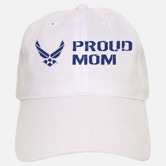 USAF: Proud Mom Baseball Baseball Cap