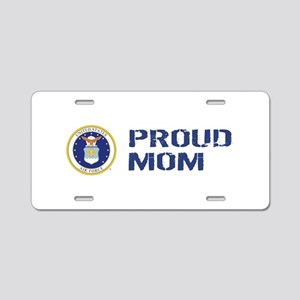 USAF: Proud Mom Aluminum License Plate