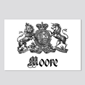 Moore Vintage Crest Family Name Postcards (Package