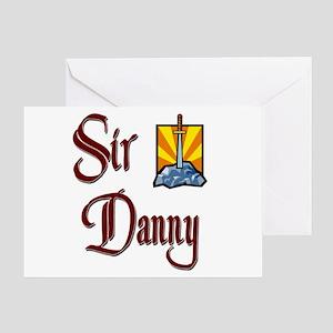 Sir Danny Greeting Card