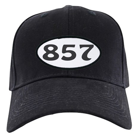 857 Area Code Black Cap