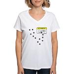 BULLET HOLE Women's V-Neck T-Shirt