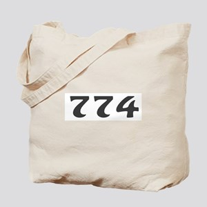 774 Area Code Tote Bag