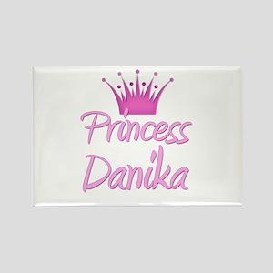 Princess Danika Rectangle Magnet