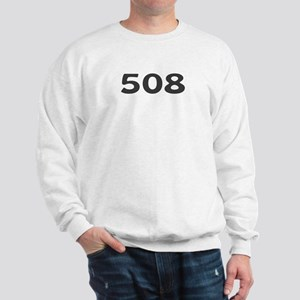508 Area Code Sweatshirt