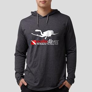 scubadiver  Mens Hooded Shirt