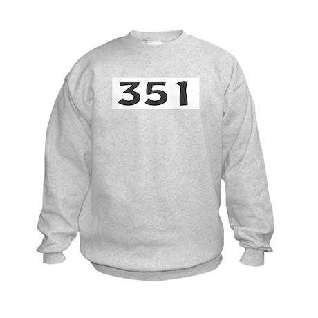 351 Area Code Kids Sweatshirt