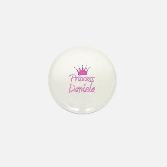 Princess Daniela Mini Button