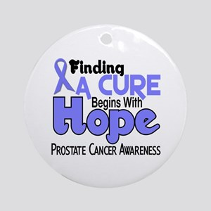 HOPE Prostate Cancer 5 Ornament (Round)