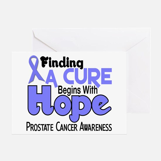 HOPE Prostate Cancer 5 Greeting Card