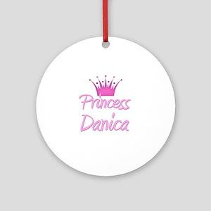 Princess Danica Ornament (Round)