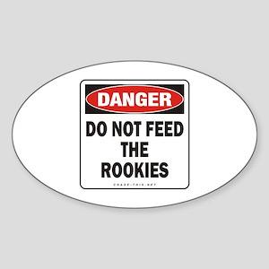 Rookies Oval Sticker